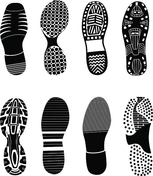 Buty jest drukowana – artystyczna grafika wektorowa