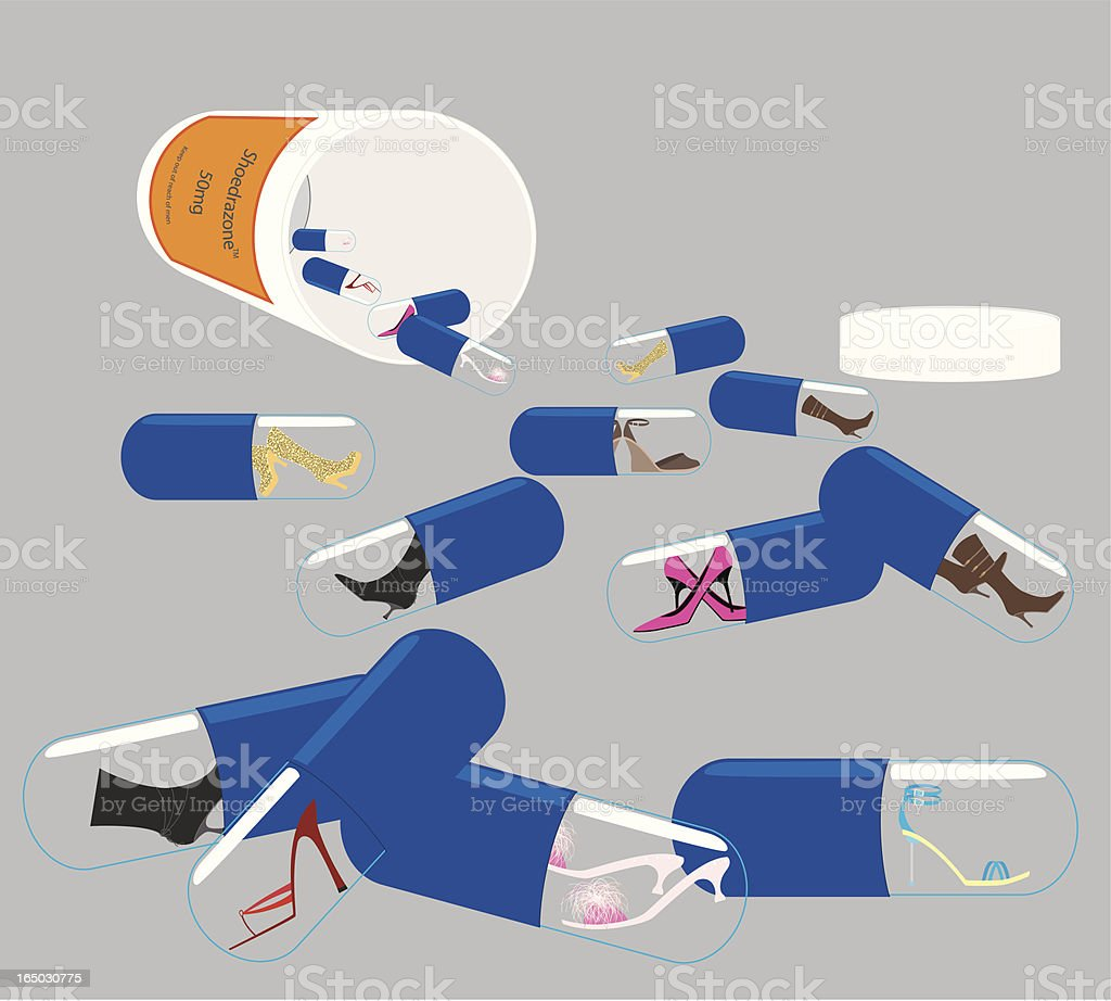Shoe Therapy - incl. jpeg royalty-free stock vector art