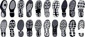Shoe tracks - Illustration