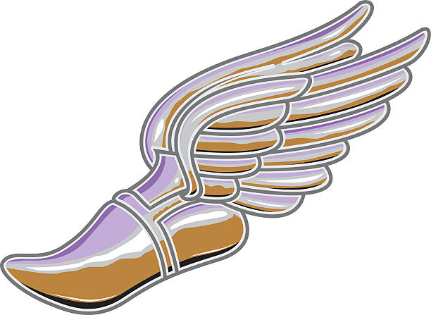 Winged Foot Track Shoe