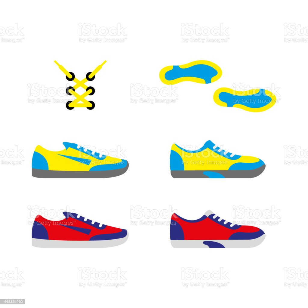 shoes 3 - Royalty-free Clothing stock vector
