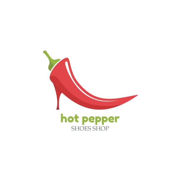 Royalty Free Angry Red And Green Chili Peppers Clip Art, Vector ...