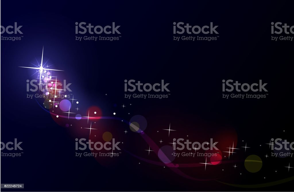 Shooting star – Vektorgrafik