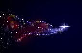 istock Shooting star 823665624