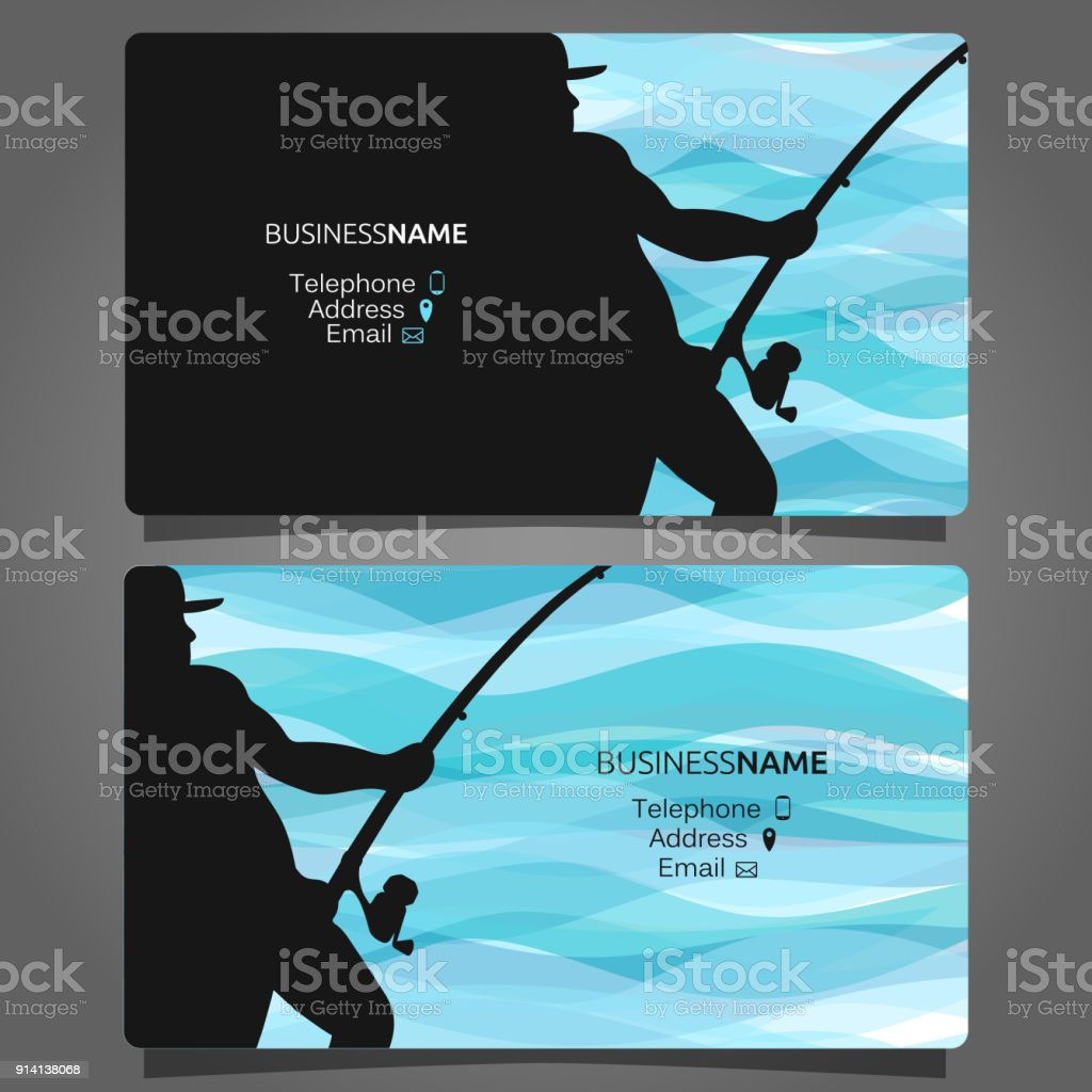 Shop fishing business card stock vector art more images of badge shop fishing business card royalty free shop fishing business card stock vector art amp colourmoves