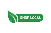 Shop Local Badge Design