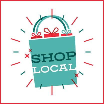 Shop Local Shopping Bag