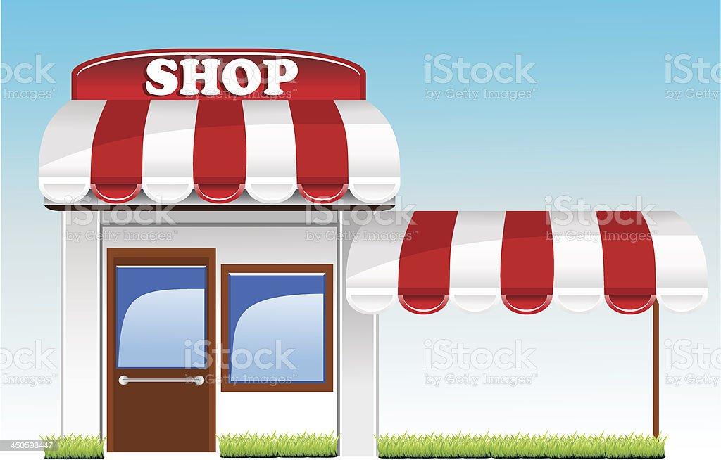 shop royalty-free stock vector art