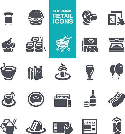 Shoping and Retail Icons