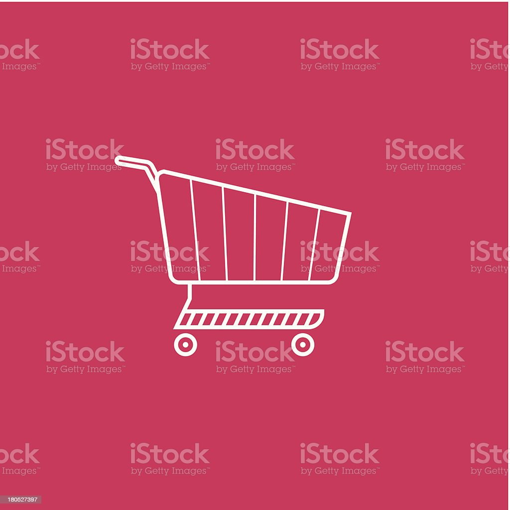 Shoping cart royalty-free shoping cart stock vector art & more images of basket