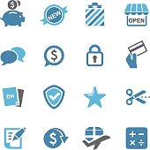Shopping and Buying Icons - Conc Series