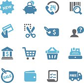 Shopping and Buying Icons Set - Conc Series