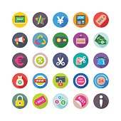 Looking for shopping icons for your online business? You're on the right spot. We have gathered here category of shopping and ecommerce flat icons sets that cover all the necessary icons you would probably find, hope you will enjoy.