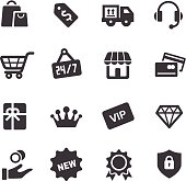 Shopping and Retail Icons - Acme Series