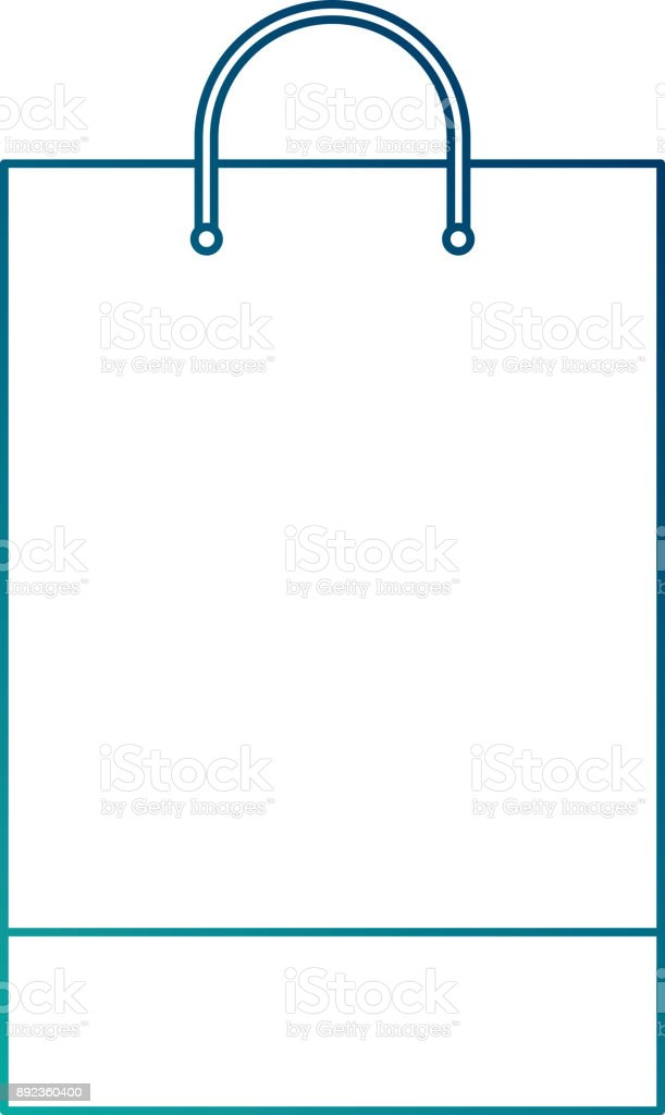 Shopping Bag Template Sample Business Stationery Blank