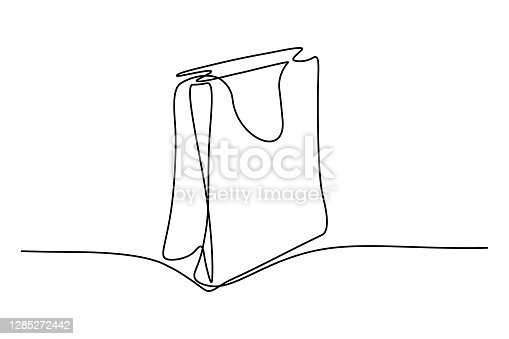 istock Shopping bag 1285272442