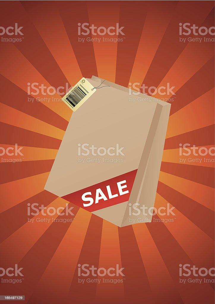 Shopping Bag royalty-free stock vector art