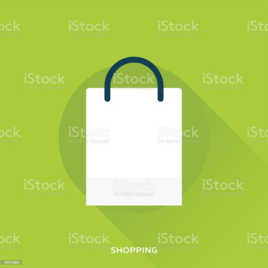 Shopping Bag vector art illustration