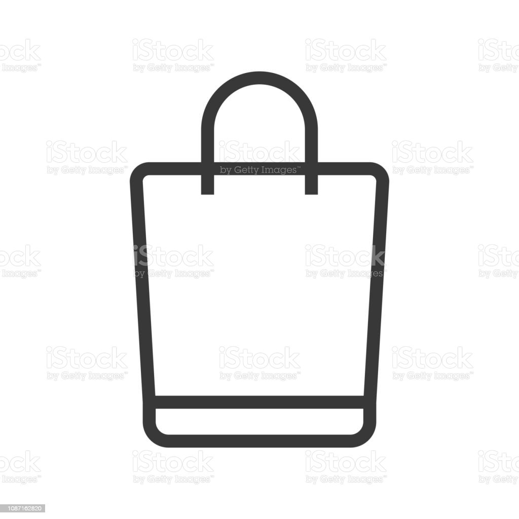 shopping bag vector online shopping line style icon editable outline stock illustration download image now istock shopping bag vector online shopping line style icon editable outline stock illustration download image now istock