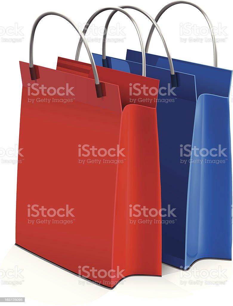 Einkaufstaschen – Vektorgrafik