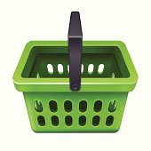 Shopping basket icon 10eps