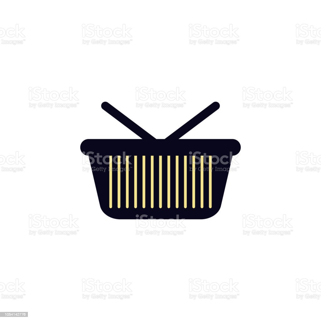 Shopping Basket Icon Element Of Colored Web Icon For Mobile Concept