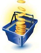 istock Shopping Basket 165974708
