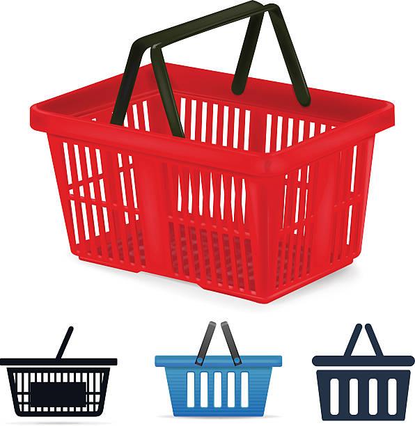 Shopping basket Shopping basket shopping basket stock illustrations