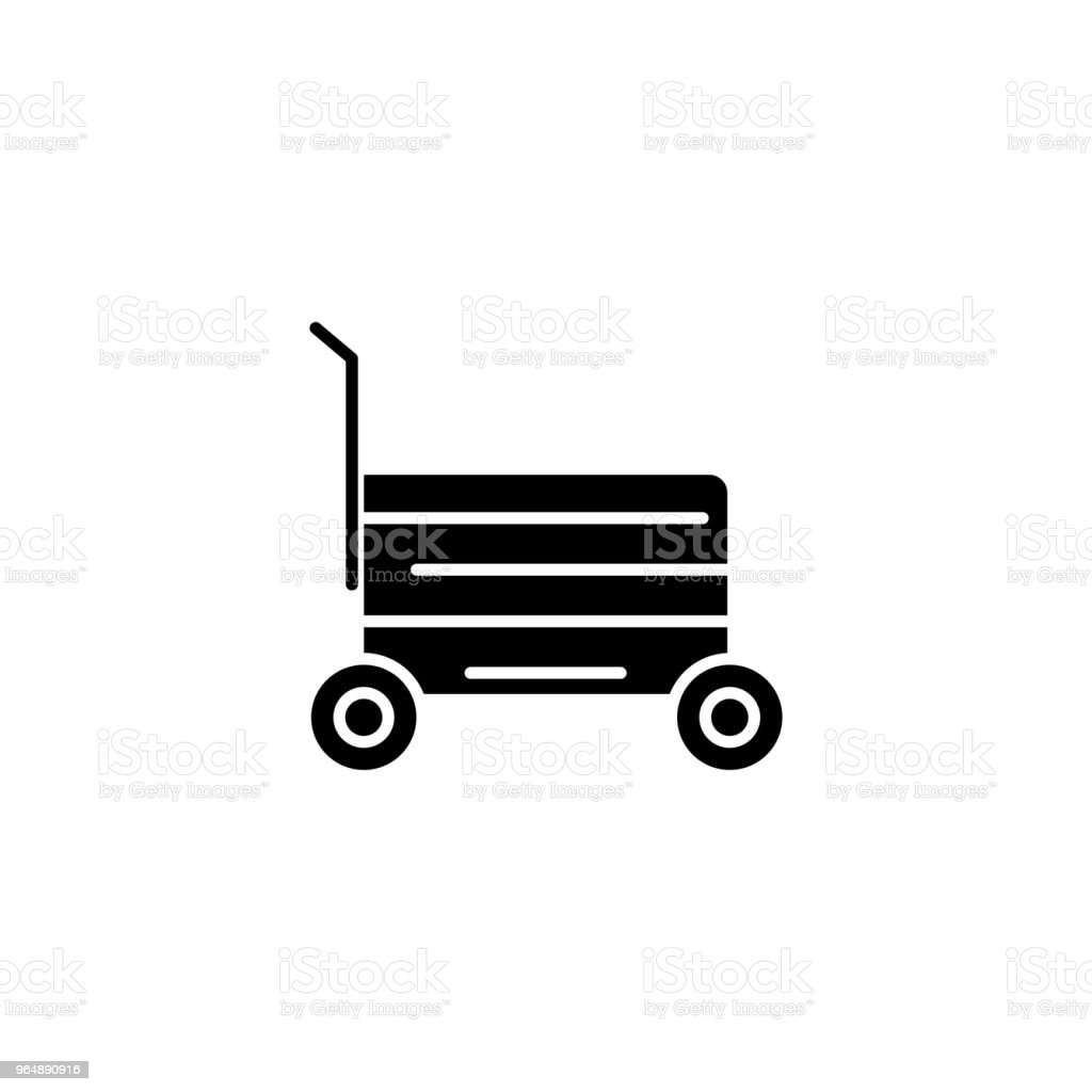 Shopping cart black icon concept. Shopping cart flat  vector symbol, sign, illustration. royalty-free shopping cart black icon concept shopping cart flat vector symbol sign illustration stock vector art & more images of art