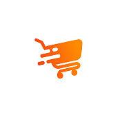 shopping cart icon design. cart icon symbol design