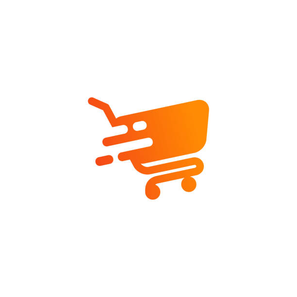 stockillustraties, clipart, cartoons en iconen met winkelwagentje icon design. cart icon symbool ontwerp - shopping cart
