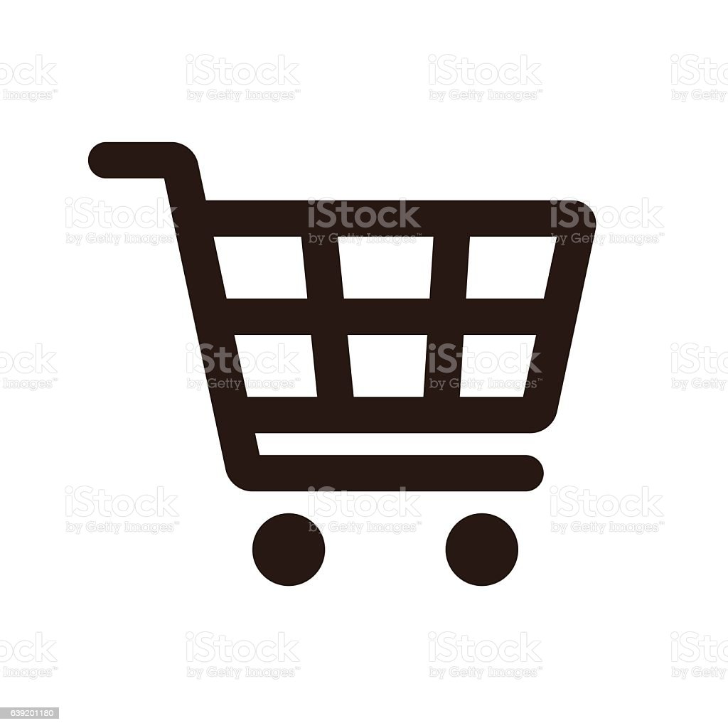 Shopping Cart Icon vector art illustration