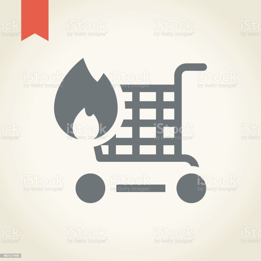 Shopping cart icon royalty-free shopping cart icon stock vector art & more images of back lit