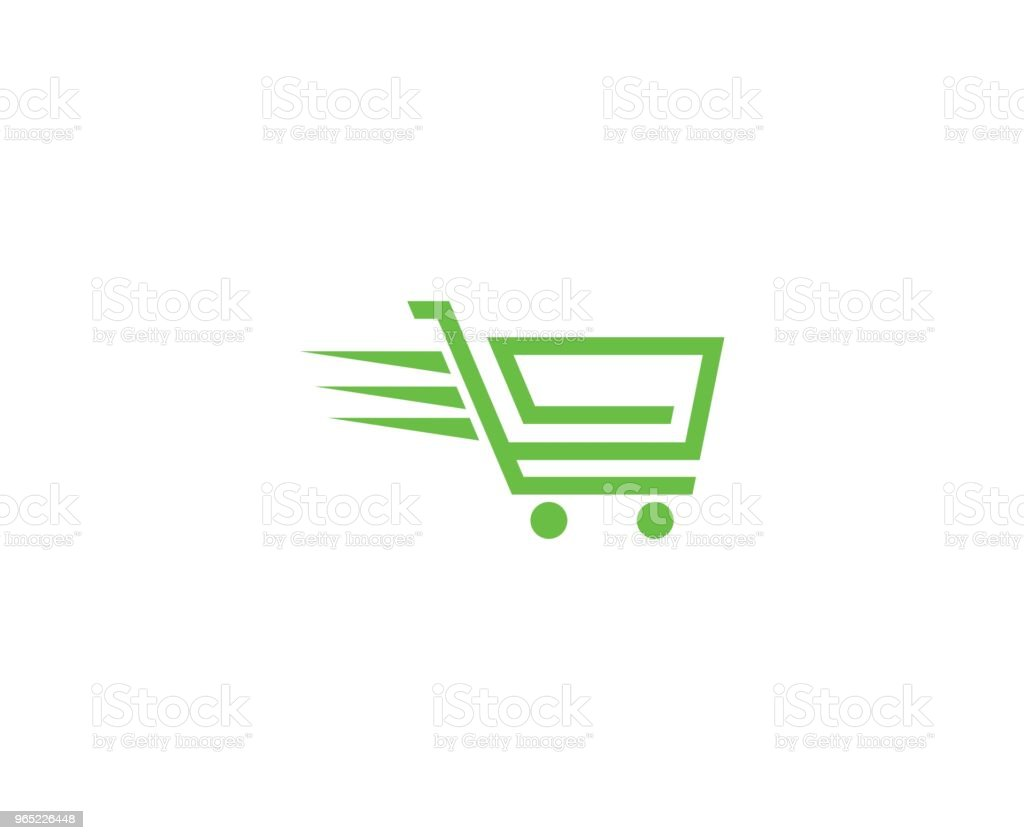 Shopping cart icon royalty-free shopping cart icon stock vector art & more images of abstract
