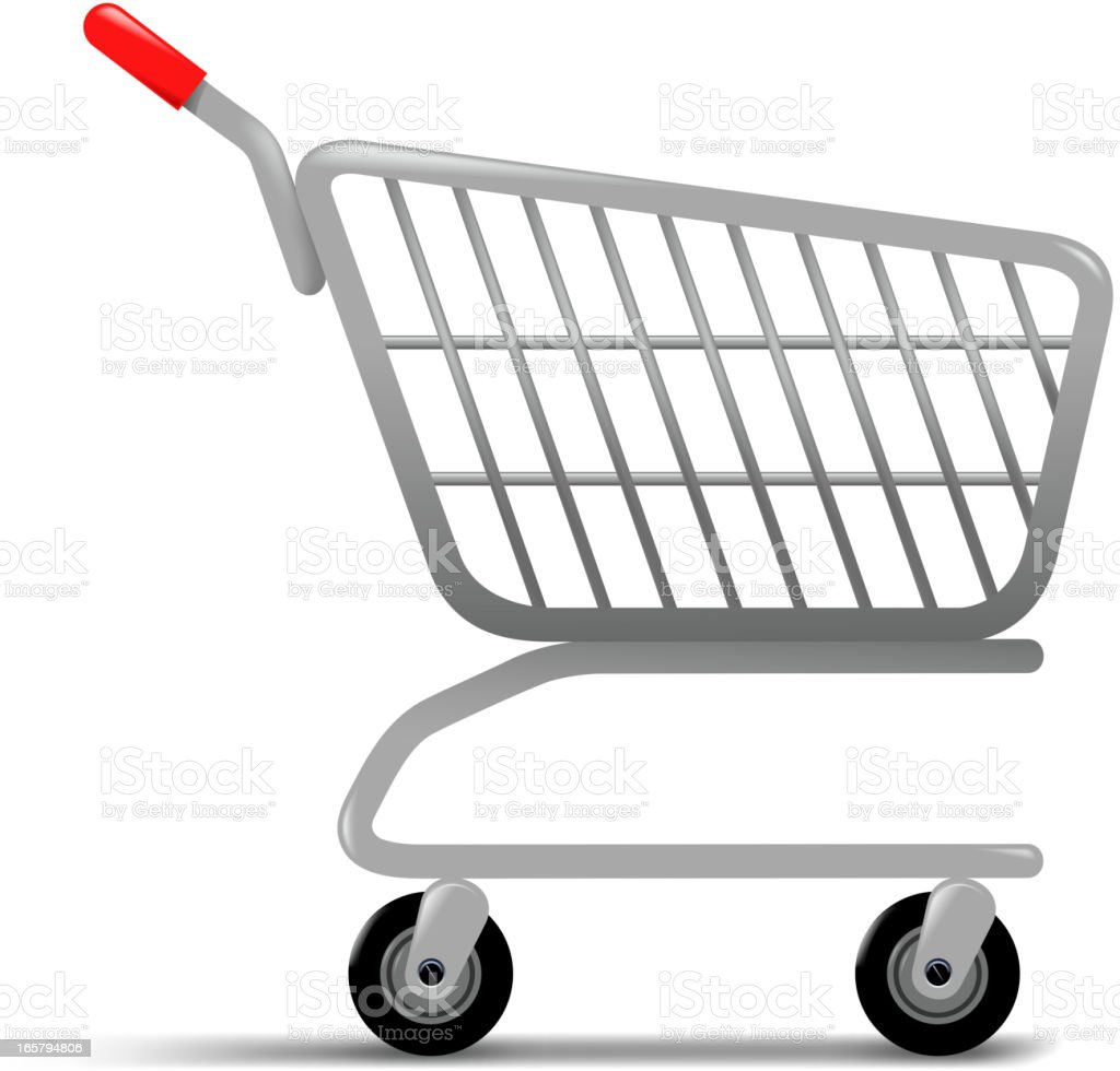 shopping cart royalty-free shopping cart stock vector art & more images of box - container