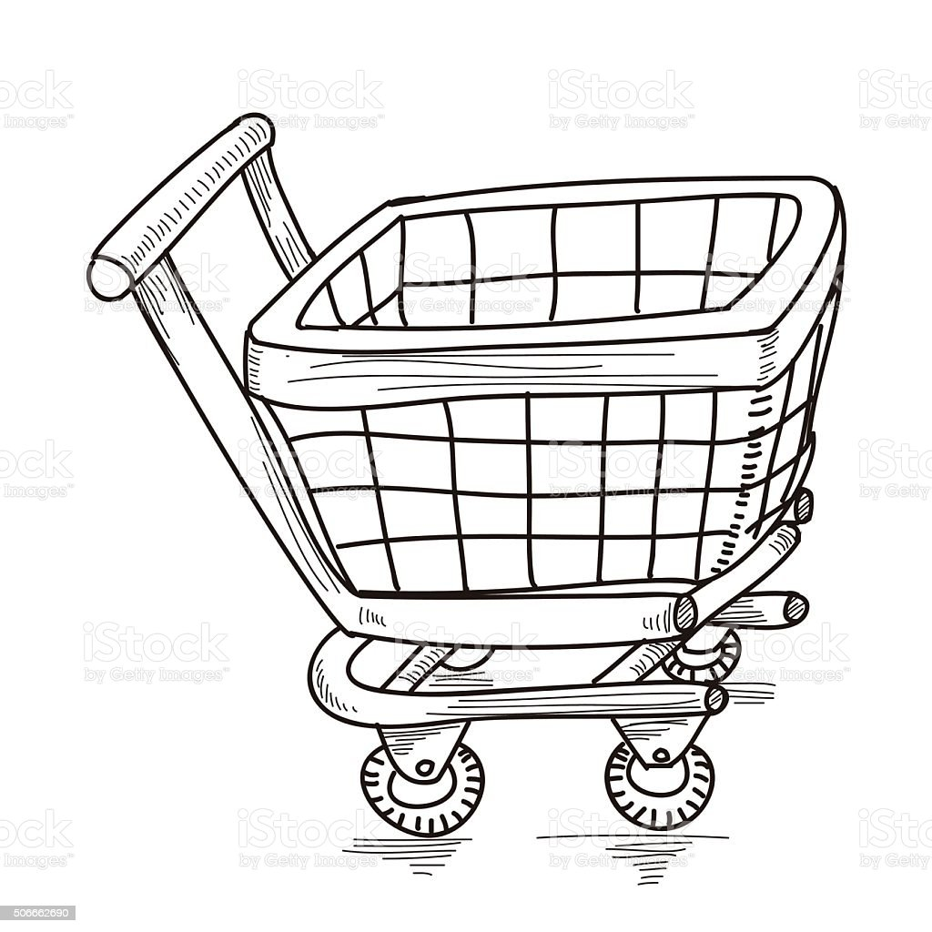 Shopping Cart Stock Illustration Download Image Now Istock