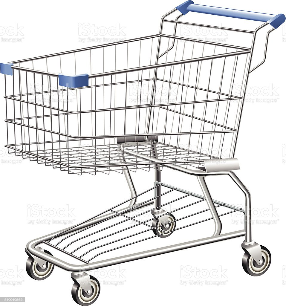 Shopping Cart vector art illustration