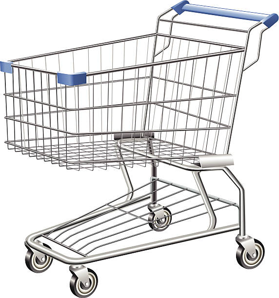 Shopping Cart This icon was created in adobe illustrator cart stock illustrations