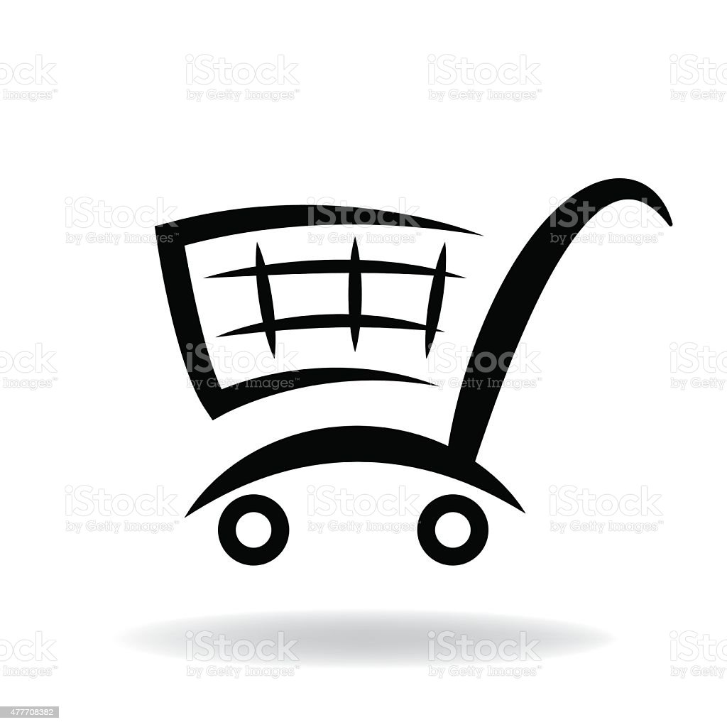 shopping cart vector stock vector art more images of 2015 rh istockphoto com shopping cart vector icon shopping cart vector logo