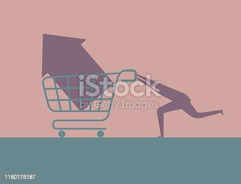 istock Shopping concept design 1160175187