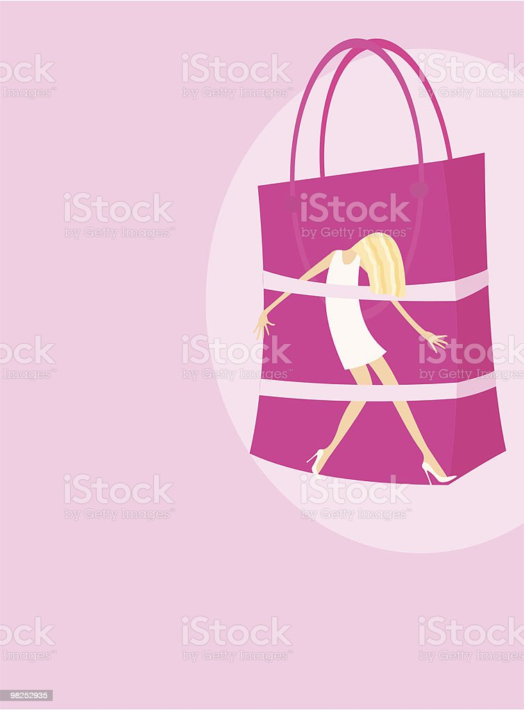 shopping dependence royalty-free shopping dependence stock vector art & more images of adolescence