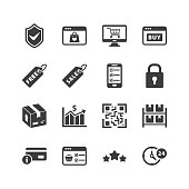 Shopping & E-commerce Icons - Set 5