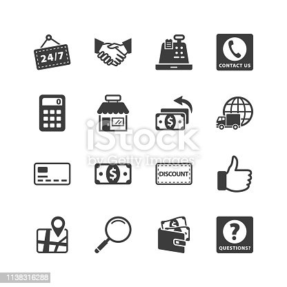 Shopping & E-commerce Icons - Set 4