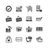 Shopping & E-commerce Icons
