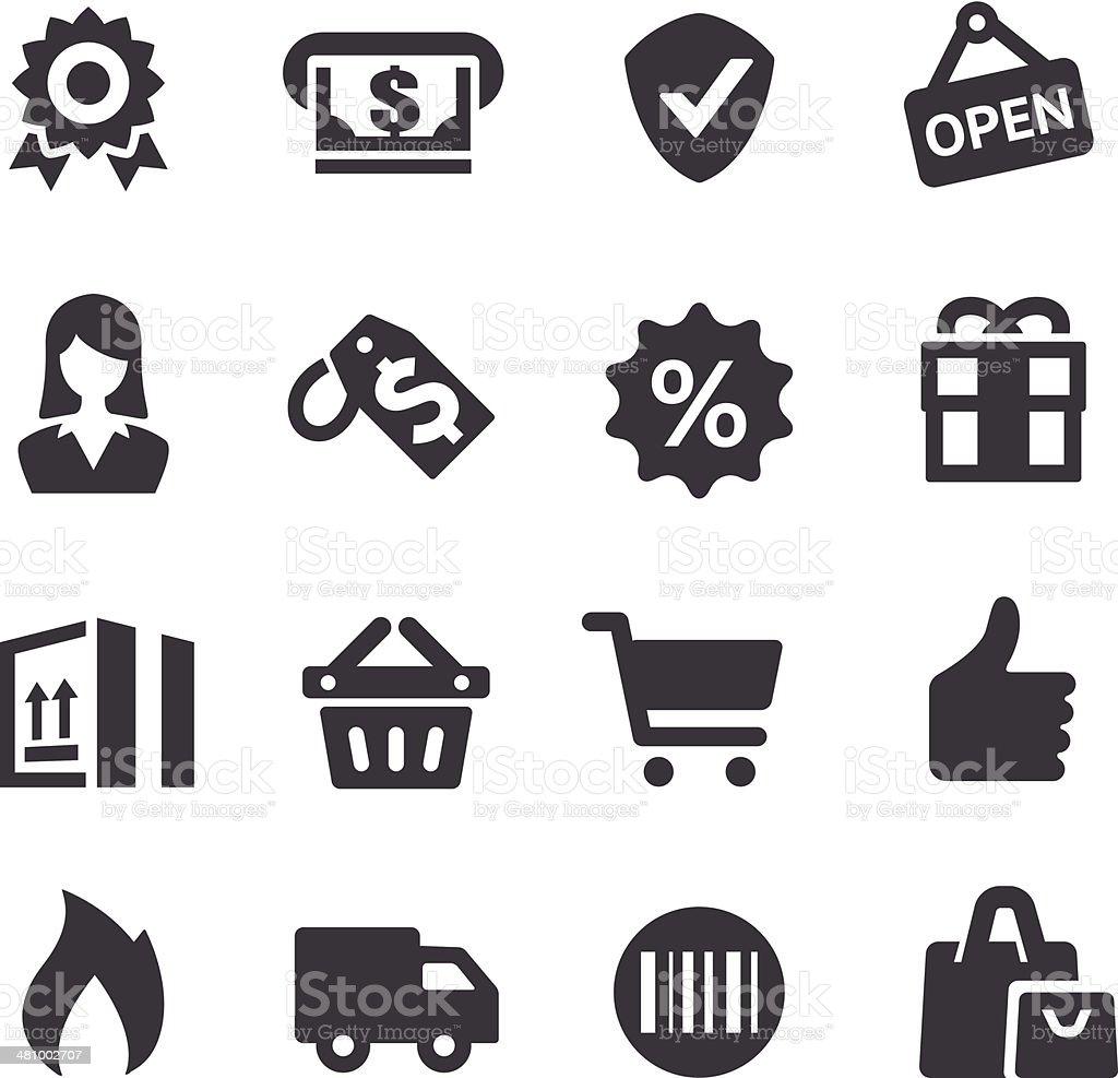 Shopping Icons - Acme Series vector art illustration