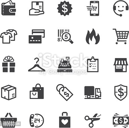 Vector icons. Black series. One icon consists of a single object. Files included: Vector EPS 10, JPEG 3000 x 3000 px, transparent PNG, AI 17