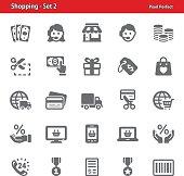 Shopping Icons - Set 2