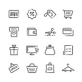 Professional icon set in sketch style. Vector artwork is easy to colorize, manipulate, and scales to any size.