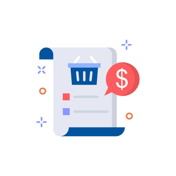 Shopping List icon Vector illustration Shopping and E-commerce Outline icon EPS 10 File Shopping List icon Vector illustration Shopping and E-commerce Outline icon EPS 10 File shopping list stock illustrations