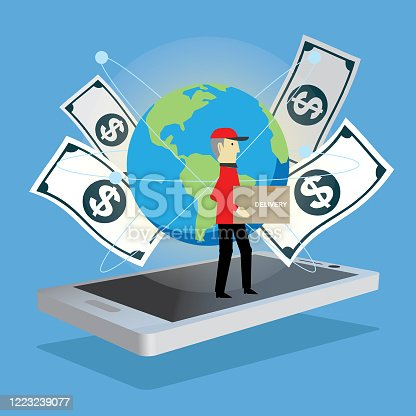 istock Shopping online 1223239077